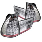 BMW E53 X5 2000 Clear LED Tail Lights