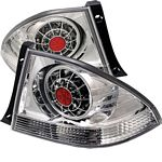 Lexus IS300 2001-2005 Clear LED Tail Lights