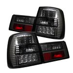 1990 BMW E34 5 Series Smoked LED Tail Lights