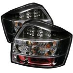 2004 Audi A4 Black LED Tail Lights