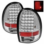 Dodge Caravan 1996-2000 Clear LED Tail Lights