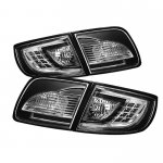Mazda 3 Sedan 2003-2008 Black LED Tail Lights