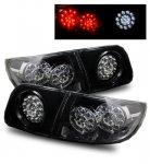 Mazda 3 Sedan 2004-2008 Smoked LED Tail Lights