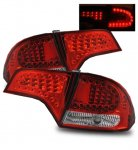 Honda Civic Sedan 2006-2011 Red LED Tail Lights