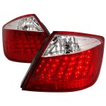 Scion tC 2005-2010 Red and Clear LED Tail Lights