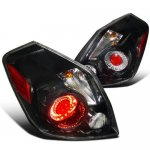 Nissan Altima Sedan 2007-2009 LED Tail Lights Black