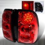 Chevy TrailBlazer 2002-2009 Red LED Tail Lights