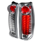 1994 GMC Yukon Clear LED Tail Lights