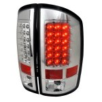 2005 Dodge Ram 3500 Clear LED Tail Lights
