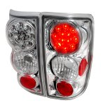 2000 Oldsmobile Bravada Clear LED Tail Lights