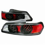2005 Acura RSX Black LED Tail Lights