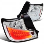 Scion tC 2011-2013 Clear LED Tail Lights