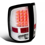 2010 Dodge Ram 3500 Clear LED Tail Lights