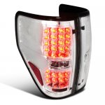 2010 Ford F150 LED Tail Lights Chrome