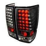 2004 Nissan Titan Black LED Tail Lights