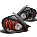 Dodge Neon 2003-2005 Black LED Tail Lights