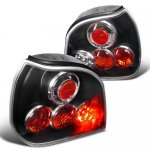 VW Golf 1993-1998 LED Tail Lights Black