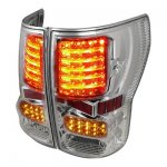 2013 Toyota Tundra Clear Full LED Tail Lights