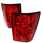 Jeep Grand Cherokee 2005-2006 Red LED Tail Lights