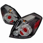 Nissan Altima Sedan 2007-2009 LED Tail Lights Chrome