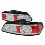 2006 Acura RSX Chrome LED Tail Lights