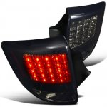 Toyota Celica 2000-2005 Black Smoked LED Tail Lights