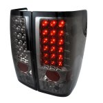 2004 Nissan Titan Smoked LED Tail Lights