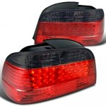 1995 BMW 7 Series LED Tail Lights Red and Smoked