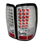 2005 Chevy Suburban Clear LED Tail Lights