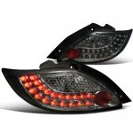 Mazda MAZDA2 2011-2012 Smoked LED Tail Lights