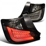 Scion tC 2011-2013 Black Smoked LED Tail Lights
