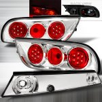 Nissan 240SX Coupe 1989-1994 Clear LED Tail Lights Set