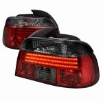 2000 BMW 5 Series LED Tail Lights Red and Smoked