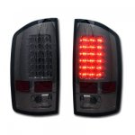 Dodge Ram 2002-2006 Smoked LED Tail Lights