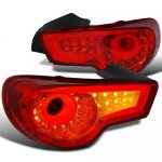 2013 Scion FRS LED Tail Lights Red