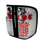 2013 Chevy Silverado 2500HD Chrome LED Tail Lights
