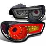 2013 Scion FRS LED Tail Lights Smoked
