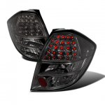 Honda Fit 2009-2010 Smoked LED Tail Lights