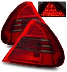 Mitsubishi Mirage 1999-2002 LED Tail Lights Red and Smoked