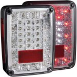 2015 Jeep Wrangler JK Chrome LED Tail Lights