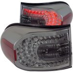 Toyota FJ Cruiser 2007-2012 LED Tail Lights Smoked