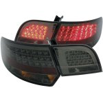 2007 Audi A3 Smoked LED Tail Lights