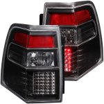 2013 Ford Expedition Black LED Tail Lights