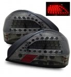 2002 Pontiac Grand AM LED Tail Lights Smoked
