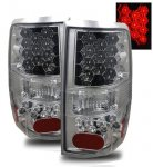 2004 Ford F150 Chrome LED Tail Lights