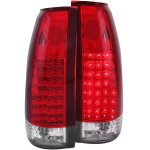 1990 Chevy 3500 Pickup LED Tail Lights Red and Clear