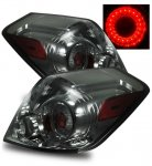 Nissan Altima Sedan 2007-2009 LED Tail Lights Smoked