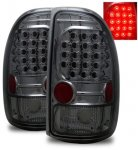 Dodge Dakota 1997-2004 Smoked LED Tail Lights