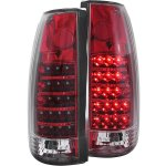 1998 Chevy 3500 Pickup Red LED Tail Lights