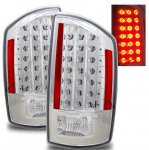 2008 Dodge Ram Chrome LED Tail Lights